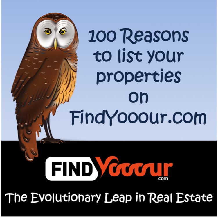 100 Reasons to list your properties on FindYooour.com